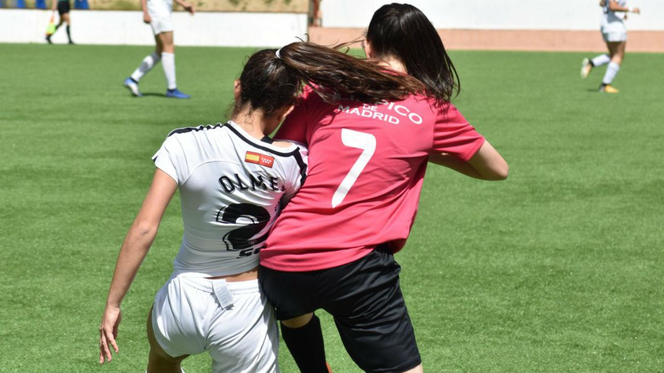 Resumen del Olímpico de Madrid-Madrid CFF B (2-4)