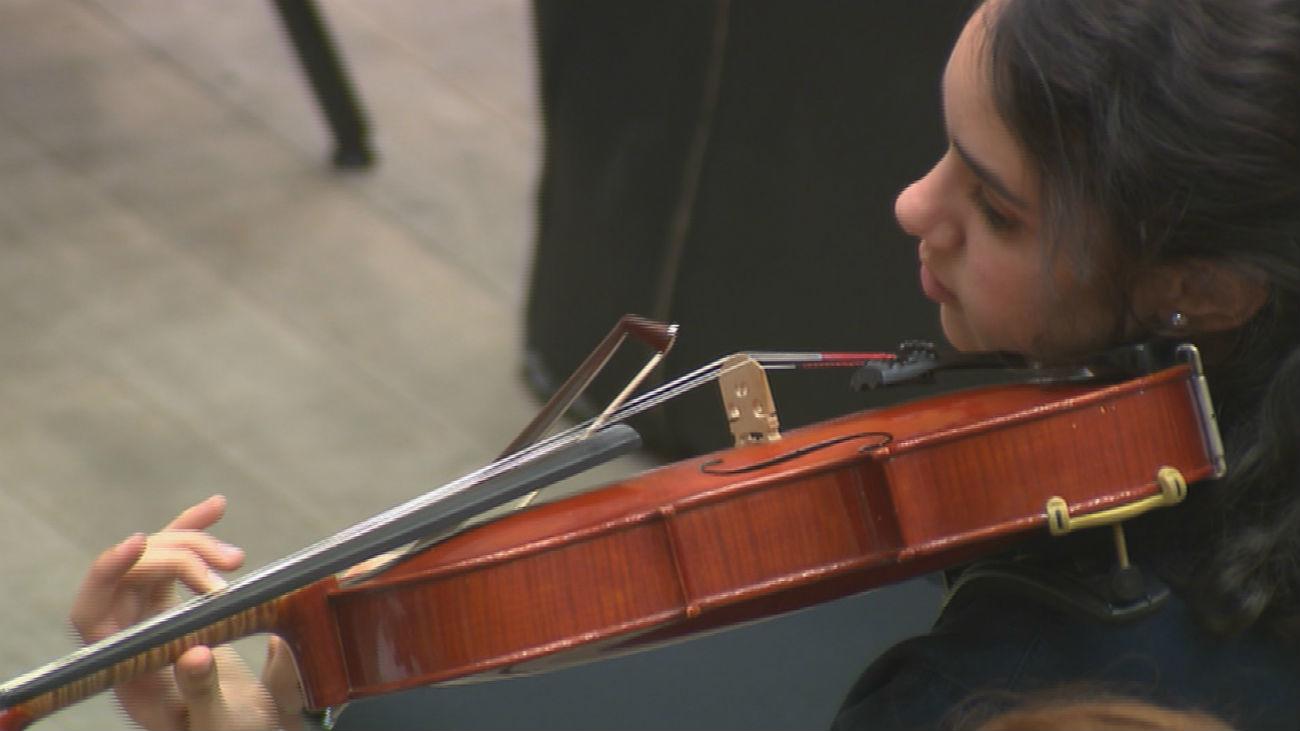 Jóvenes científicos tocan en el Auditorio Nacional