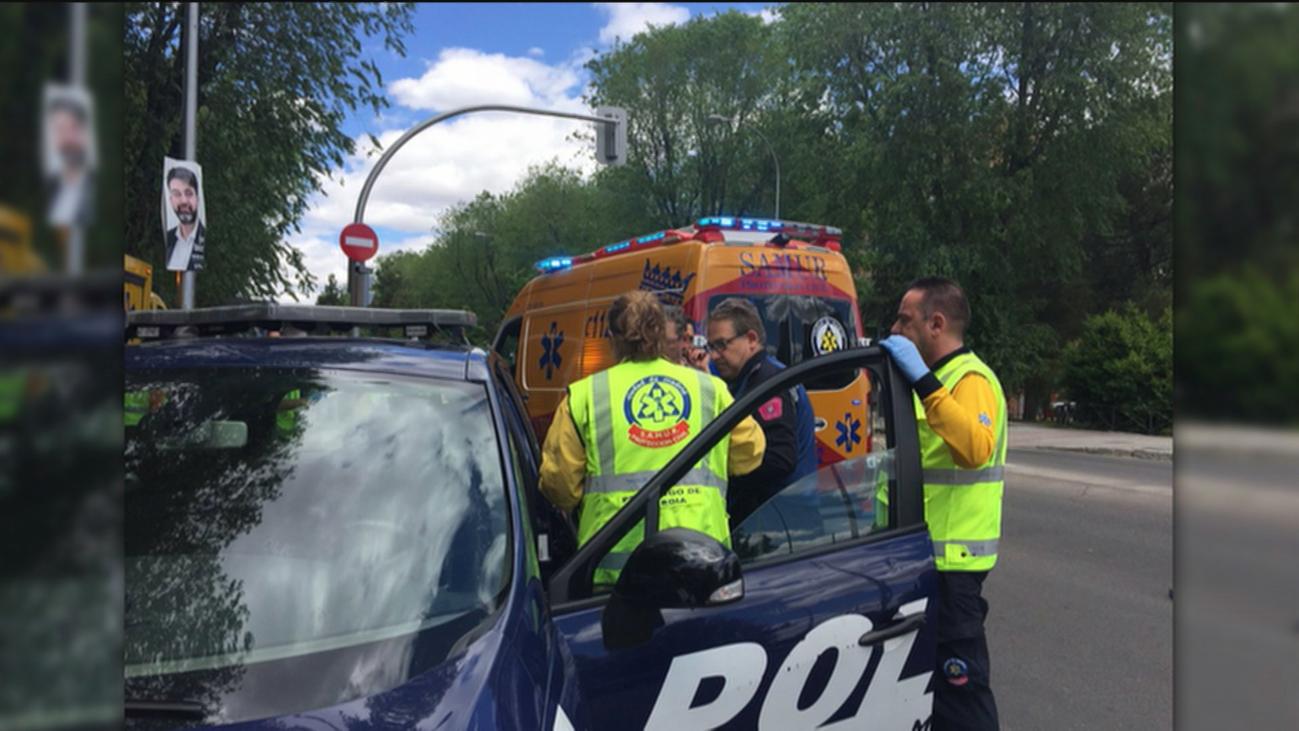 La Policía investiga el atropello del hombre de 77 años en Moratalaz