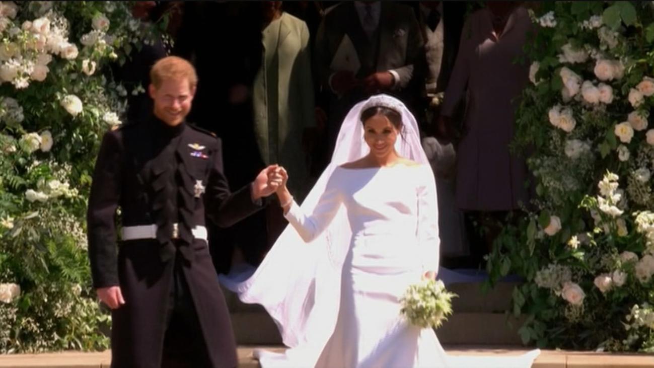 ¡Feliz aniversario de boda, Meghan y Harry!