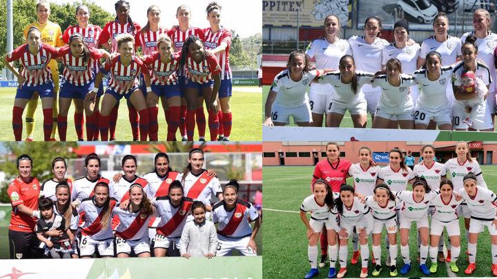Hora de balances y retos en los equipos madrileños de la liga femenina de fútbol