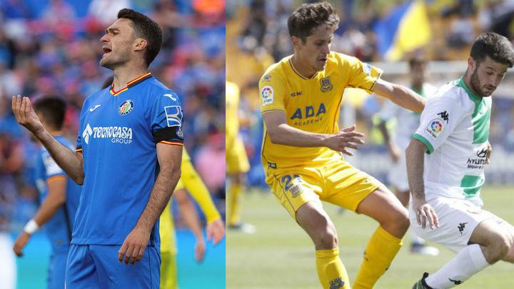El Getafe empata con el Villarreal (2-2) y Alcorcón pierde (0-1)