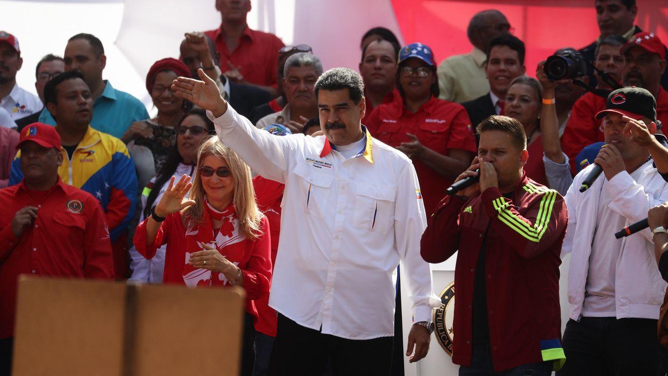 Maduro propone adelantar las elecciones legislativas como solución a la crisis