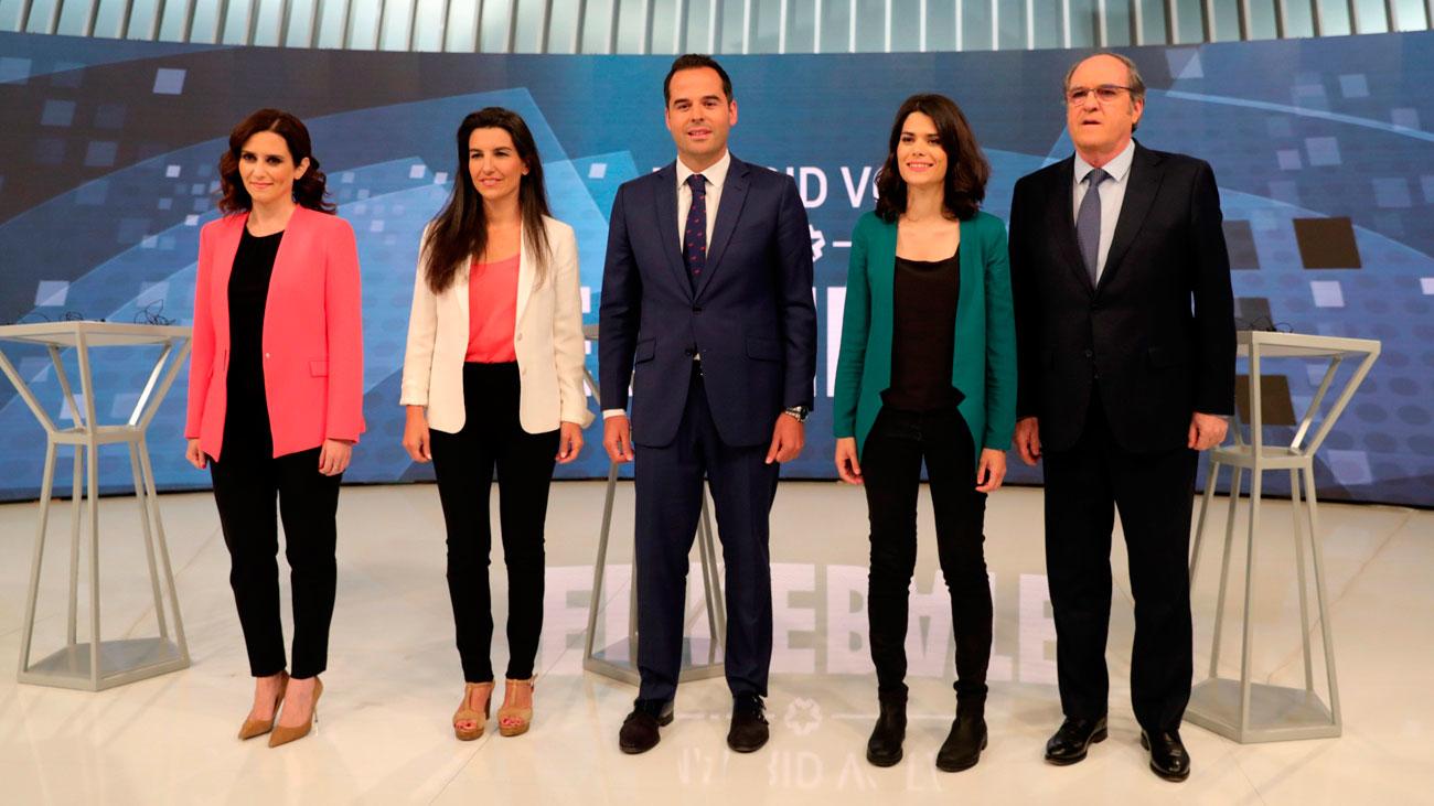 ¿Quién ganó el debate autonómico de Telemadrid? Preguntamos a los madrileños