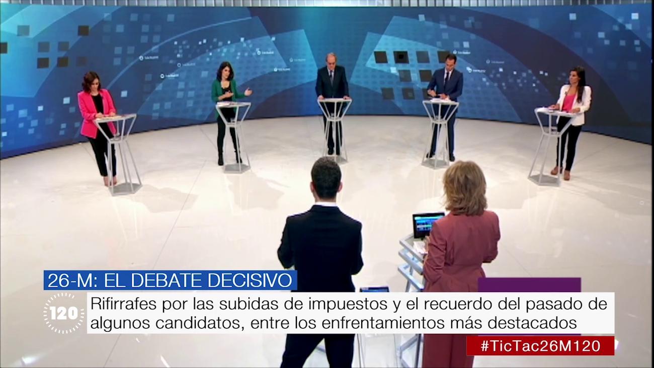 Lo mejor del debate en Telemadrid de los candidatos a la Comunidad