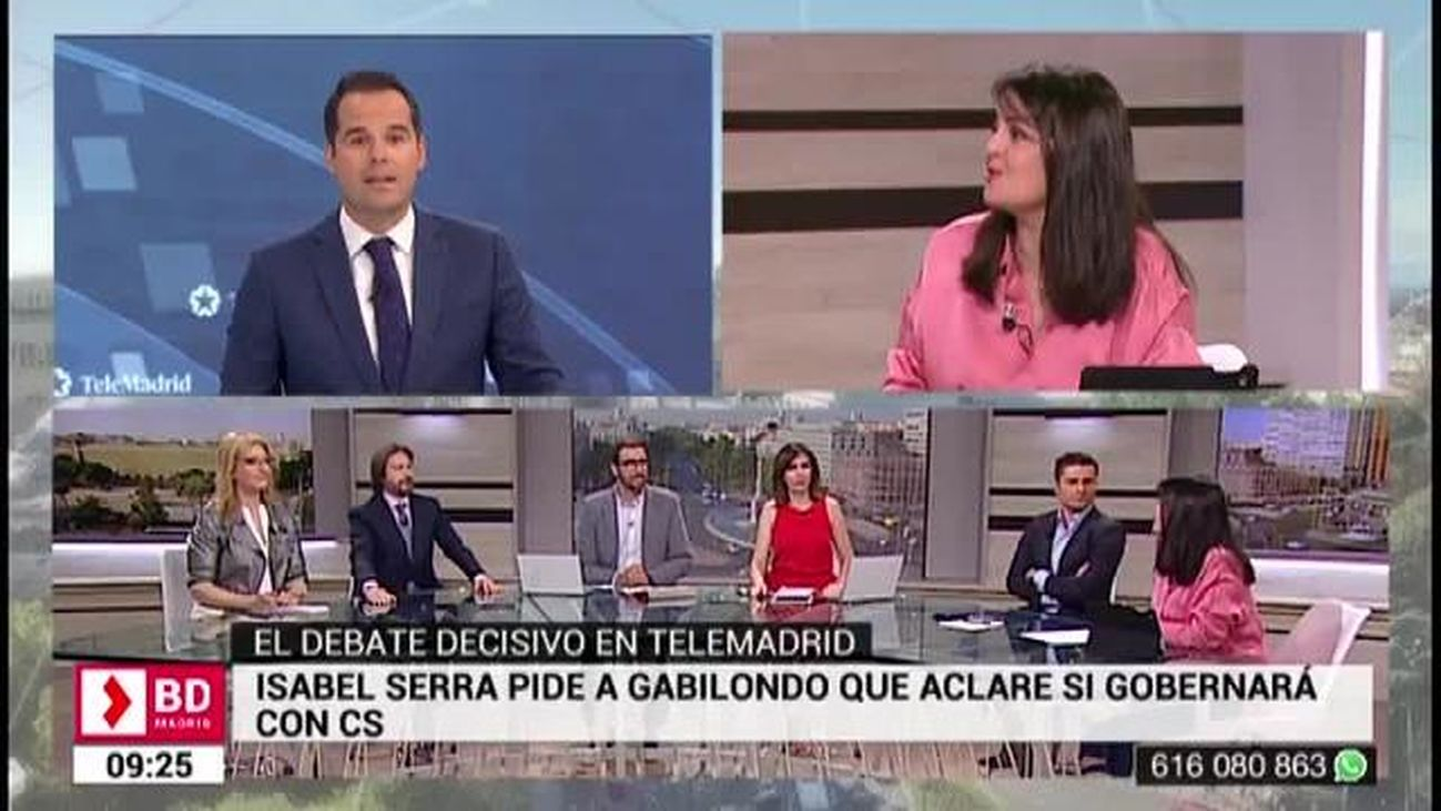 Buenos Días Madrid (8:30 - 10:30) 20.05.2019