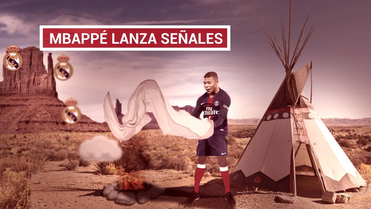 """Mbappé abre la puerta a jugar """"en otro lugar con un nuevo proyecto"""""""