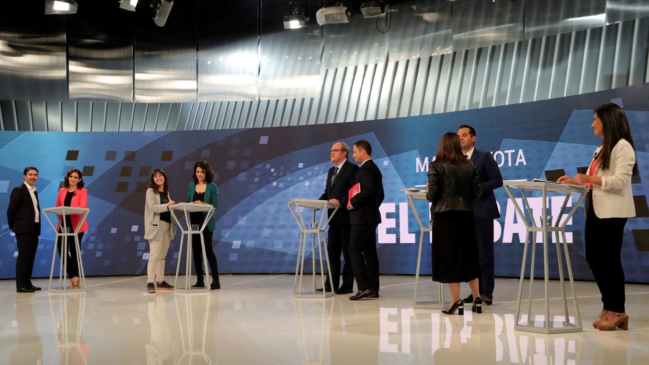 Un debate de guante blanco en Telemadrid para no cometer fallos