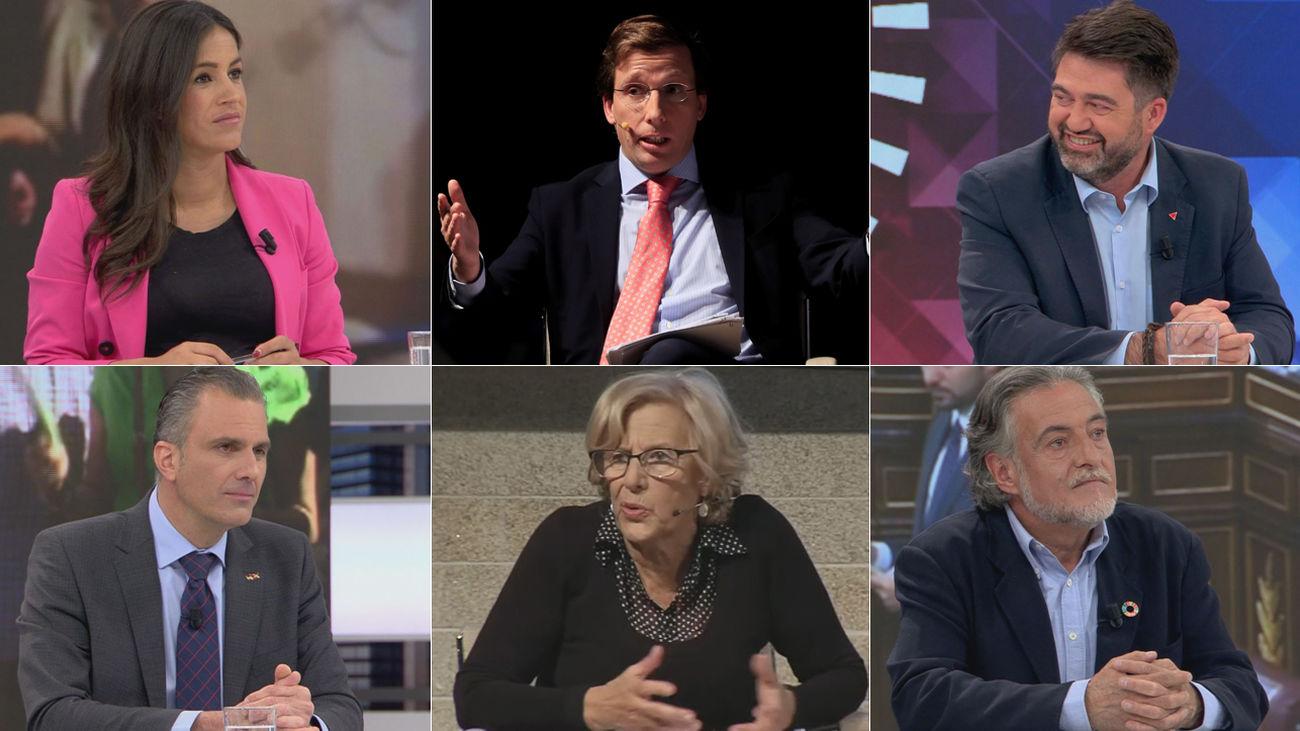Los candidatos al Ayuntamiento de Madrid
