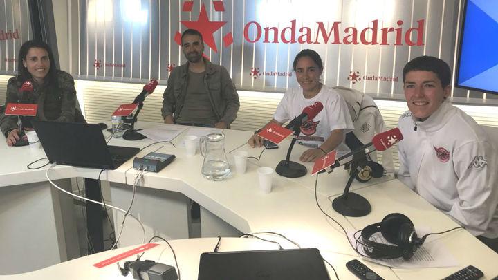 El CD Tacón celebra su ascenso en' El Partido de las Nueve'