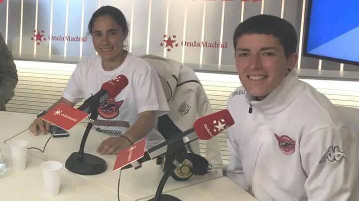 Blanca y Lorena, del CD Tacón: '¡Madre mía, somos de Primera!'