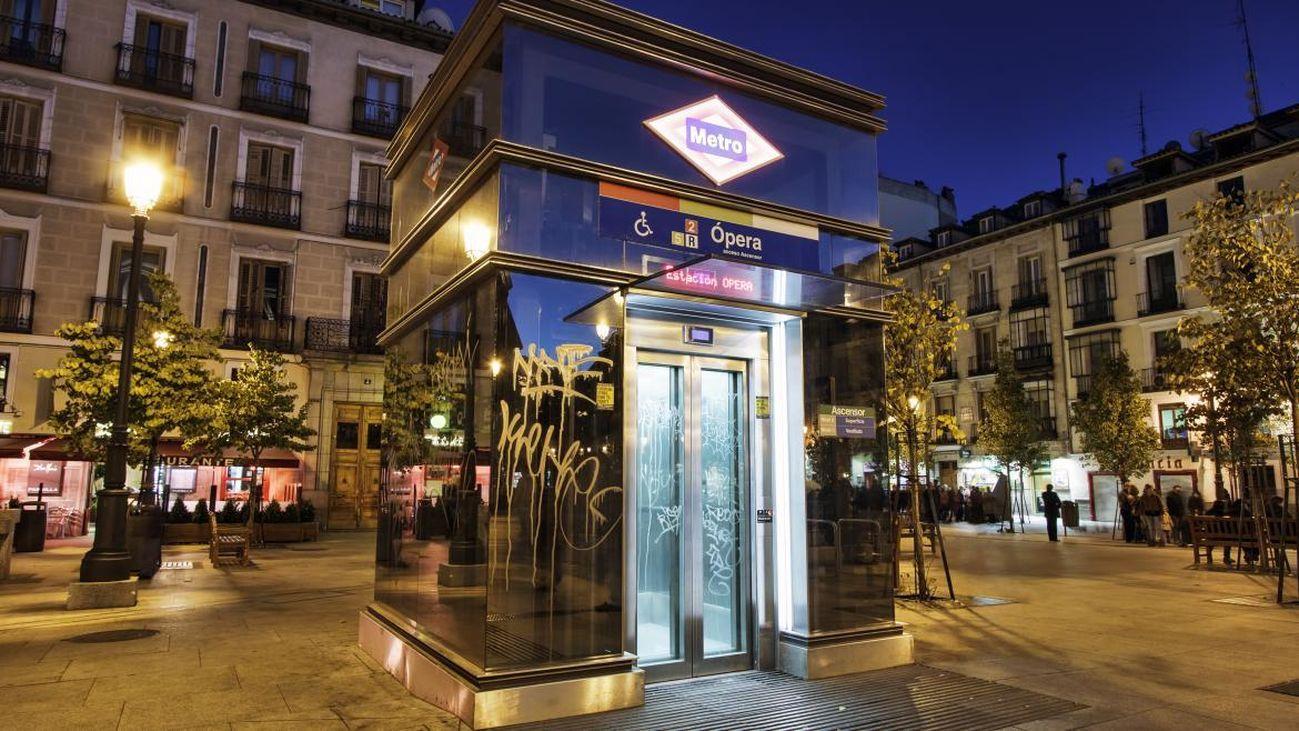 Ascensor del Metro de Madrid