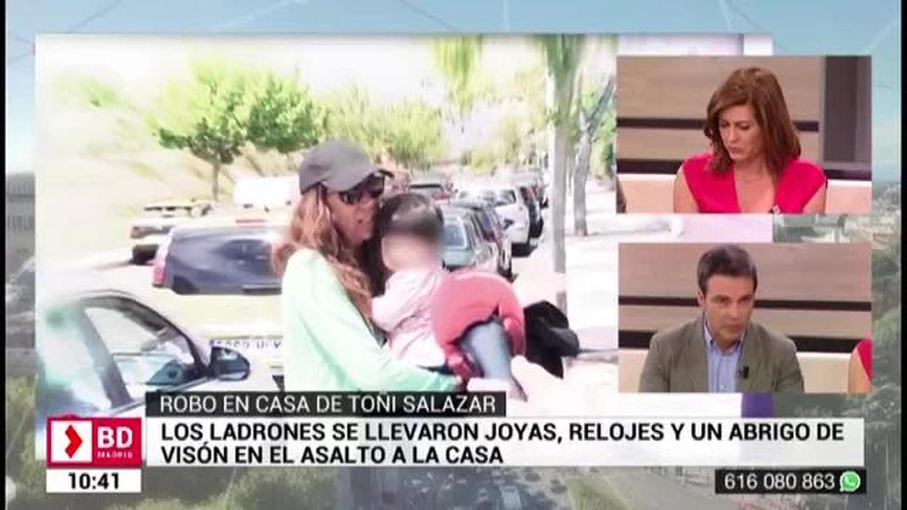 Os contamos en exclusiva la denuncia del robo a la cantante Toñi Salazar