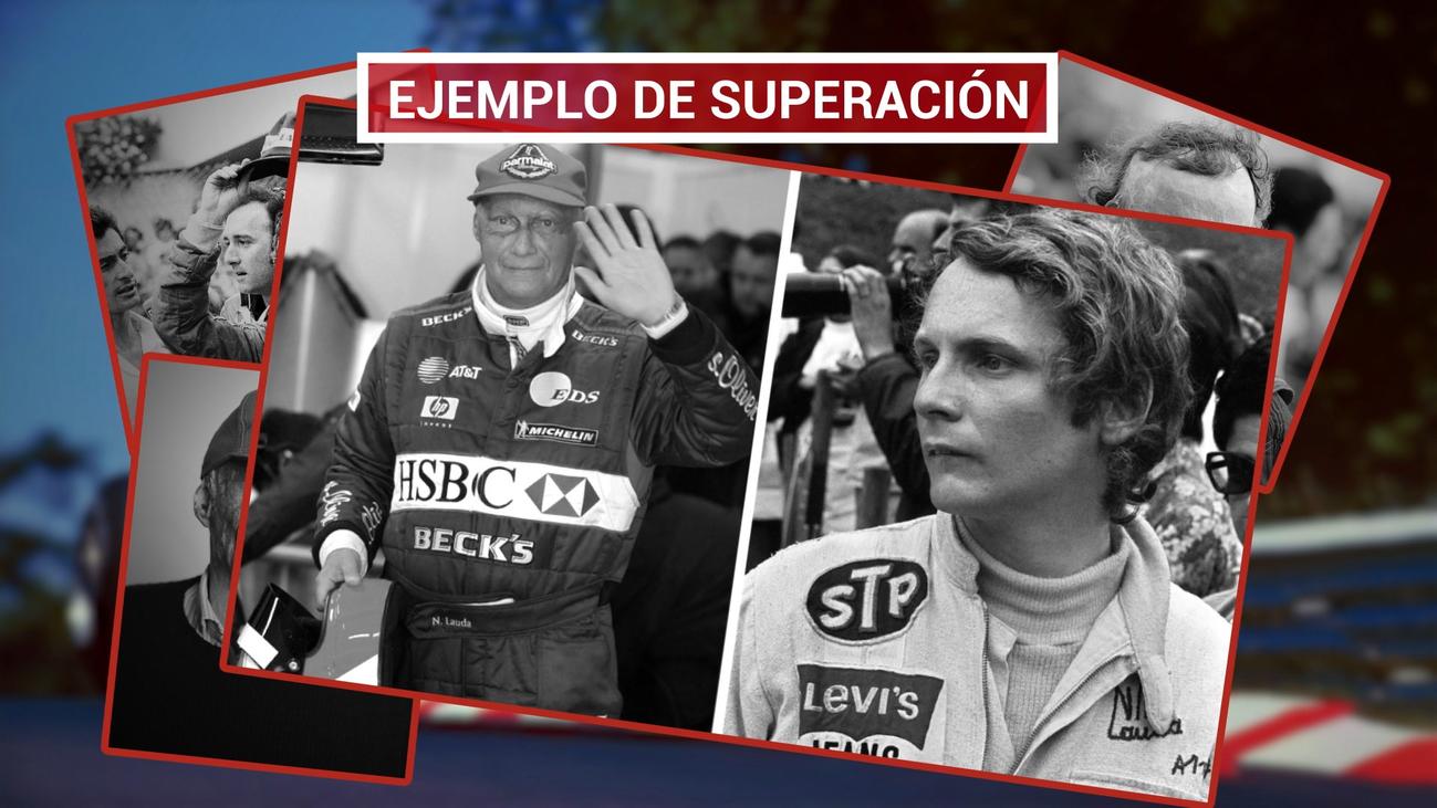 Niki Lauda, el piloto que desafió a la muerte