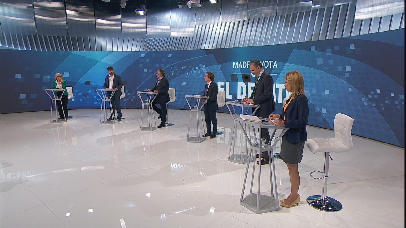 Debate encendido al hablar de la limpieza y la seguridad en Madrid