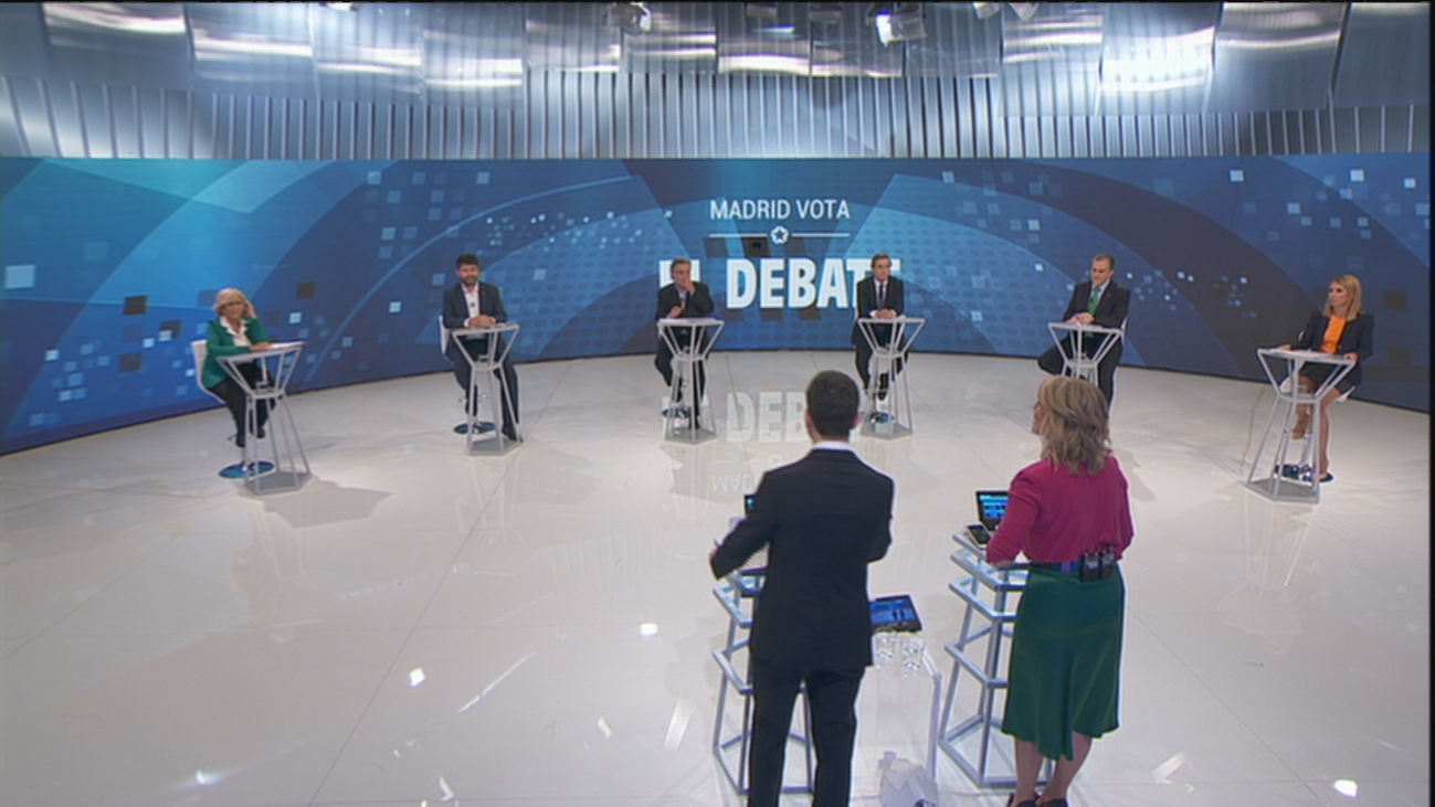 El futuro de Madrid Central, desde varios puntos de vista en el debate municipal en Telemadrid