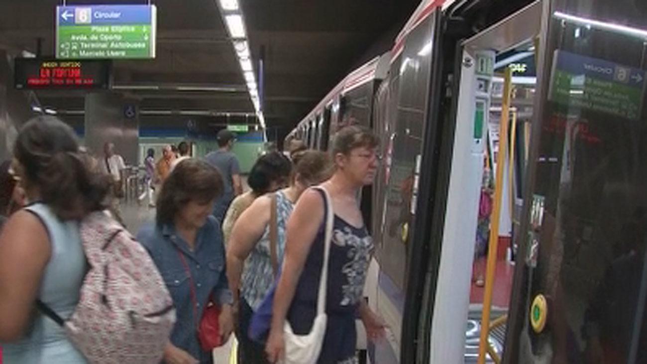 Las Líneas 4, 8, 11 y Metro Ligero afectadas hoy por la huelga de maquinistas
