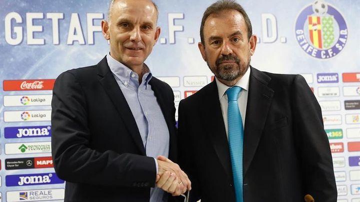 """Ángel Torres: """"Jorge Molina tiene dos años más de contrato"""""""