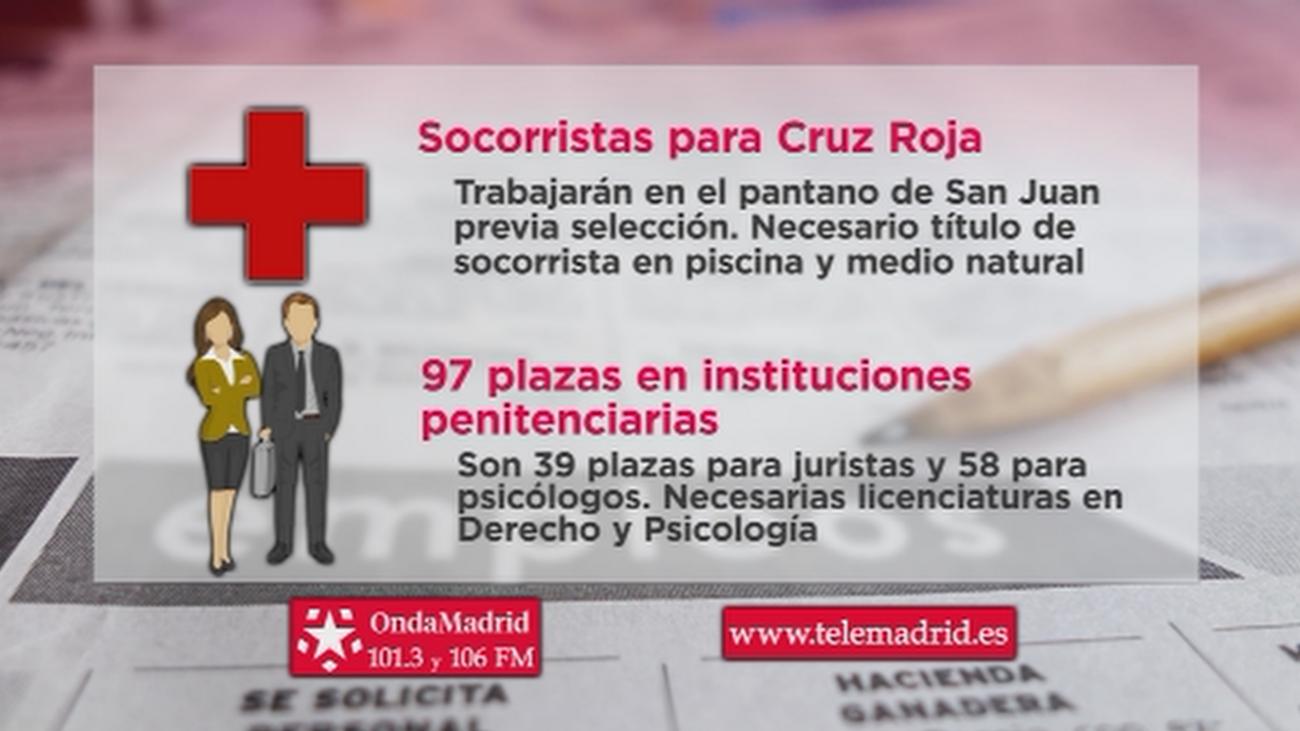 Cruz Roja busca socorristas para trabajar en el Pantano de San Juan