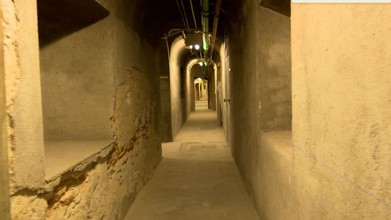 Un bunker-refugio desconocido en el Ministerio de Hacienda