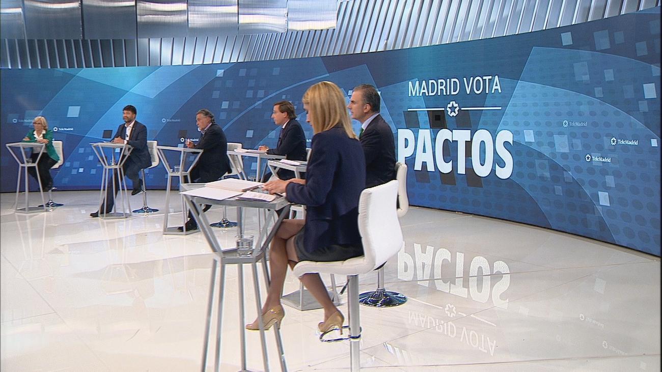 Los candidatos dibujan los pactos tras el 26-M