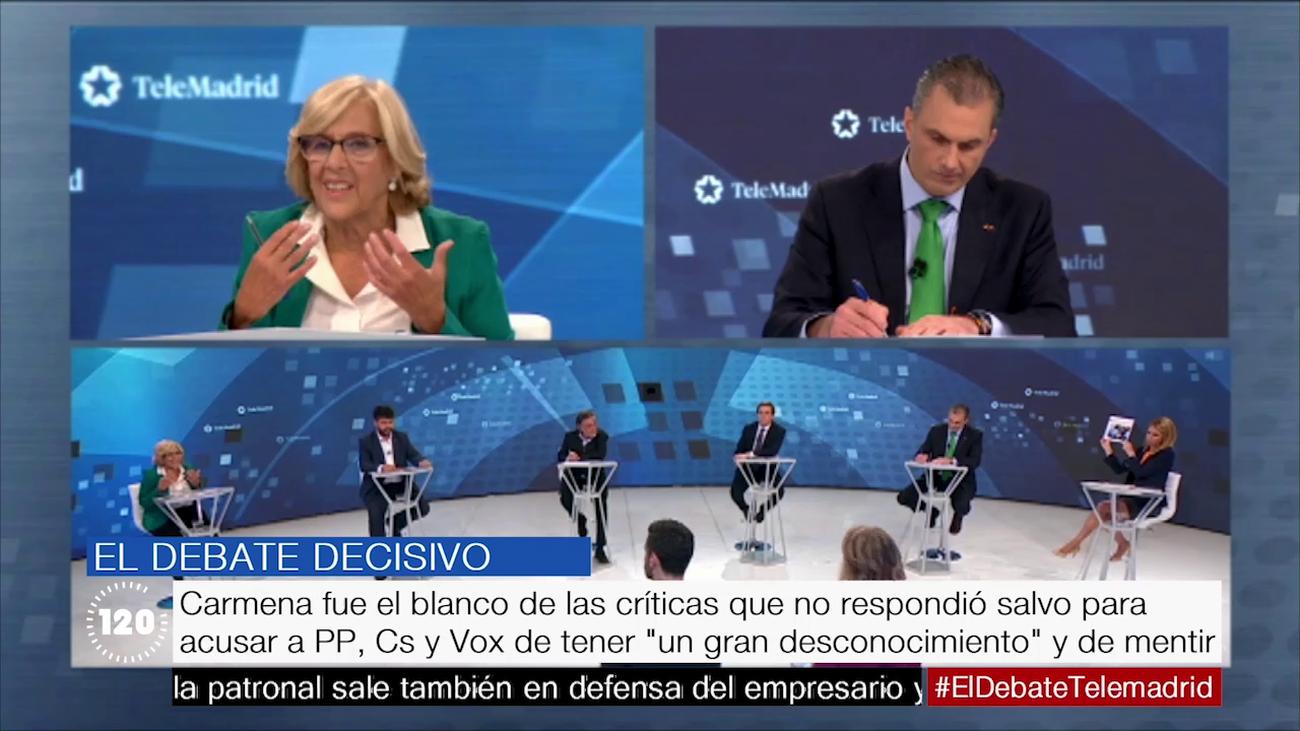 Lo mejor del debate decisivo entre los candidatos a la Alcaldía de Madrid