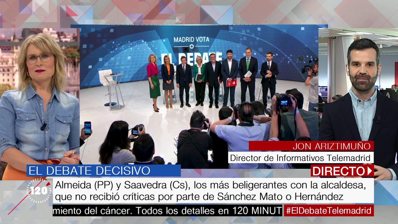 Lo que no se vio en el debate decisivo de Telemadrid
