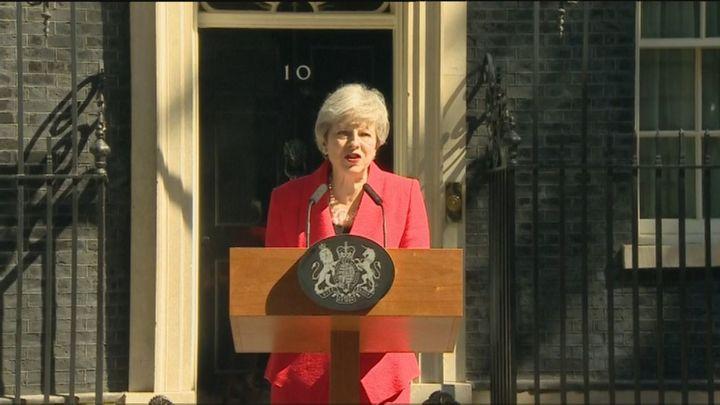 La primera ministra británica, Theresa May dimitirá  el 7 de junio