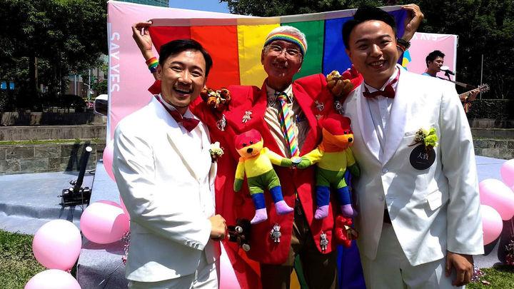 Taiwán celebra los primeros matrimonios homosexuales de toda Asia