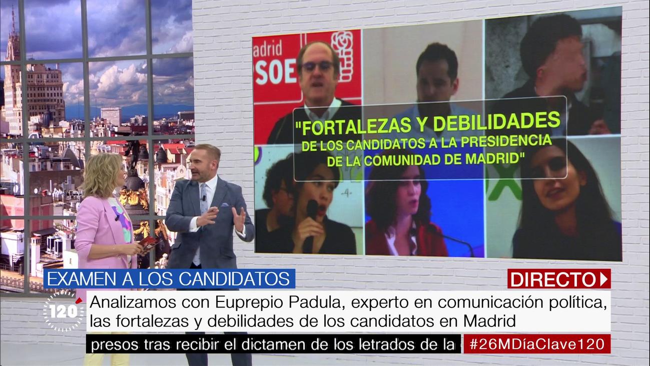 Analizamos las fortalezas y debilidades de los candidatos en Madrid
