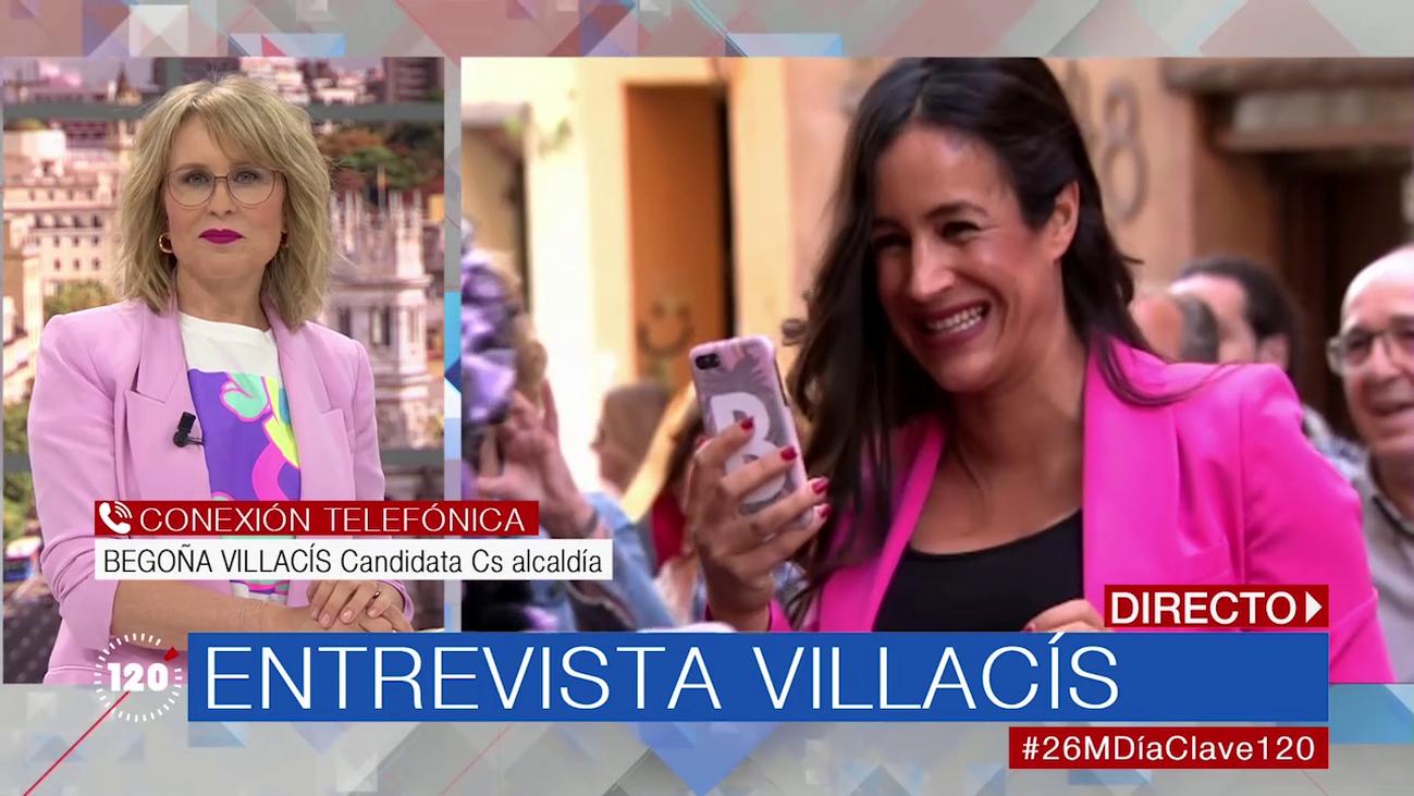 "Begoña Villacís, tras salir del hospital: ""Me encuentro fenomenal"""