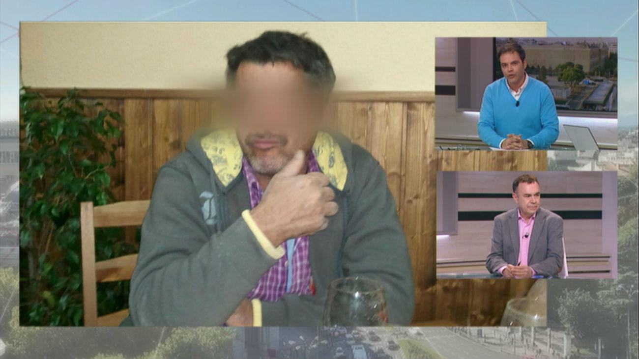 Primeras imágenes del detenido en Casarrubios