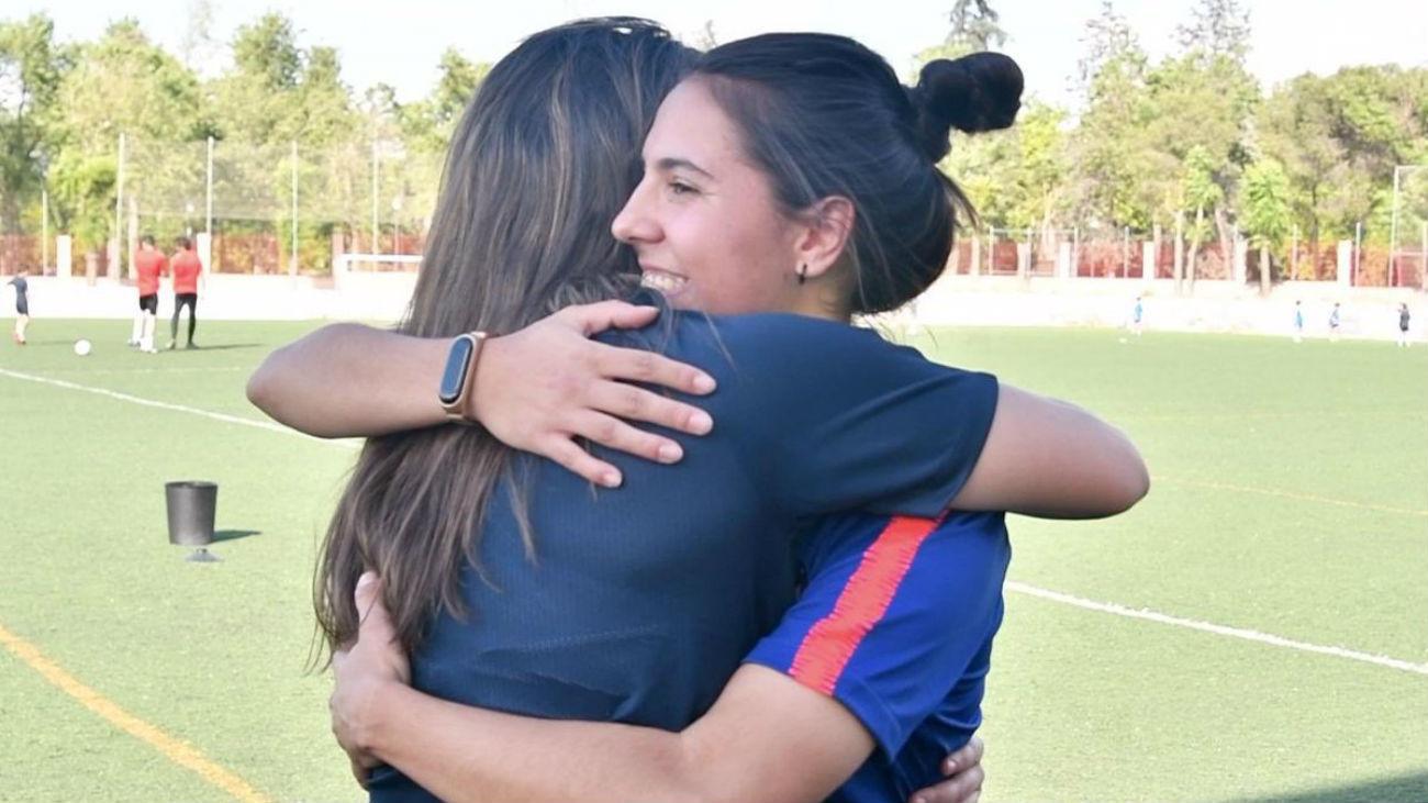 Claudia y Paula, amigas y rivales en la final de Copa