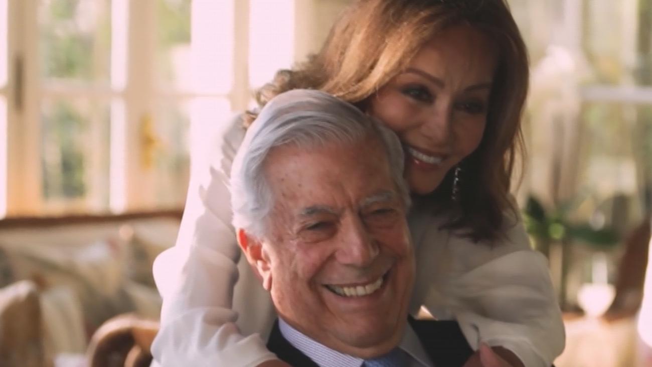 El Nobel Vargas Llosa, última relación de la influencer