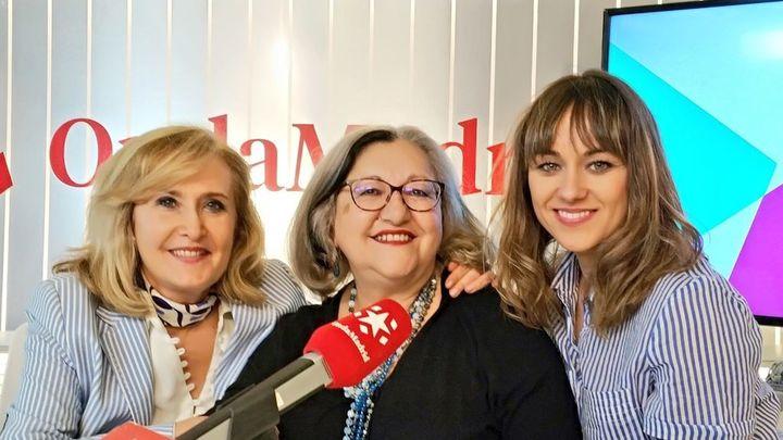 """Inma Chacón, hermana de Dulce,  y Laura Toledo presentan la obra de teatro """"La voz dormida"""""""