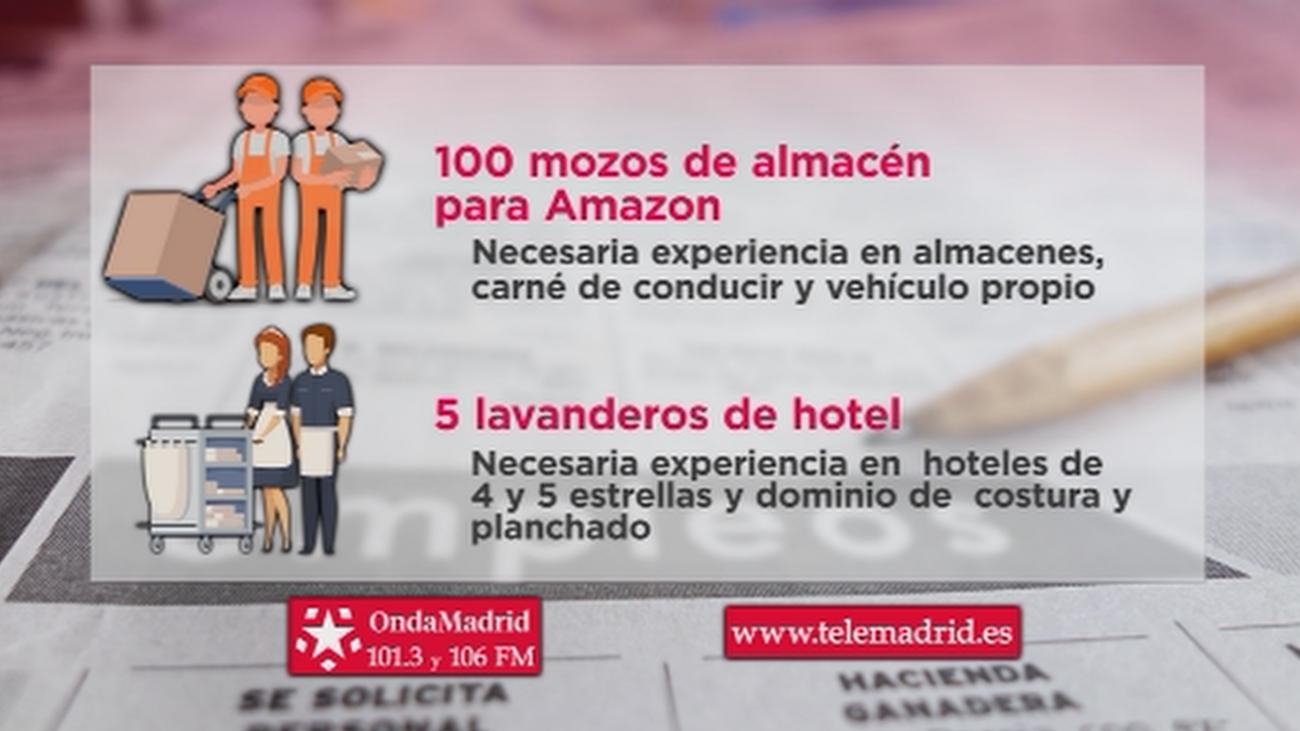 Amazon busca mozos de almacén para trabajar en Alcalá de Henares
