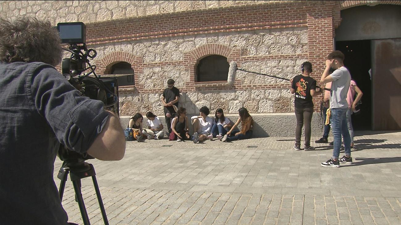 'Dentro Cine', un taller para sacar a la luz el talento de los jóvenes desempleados