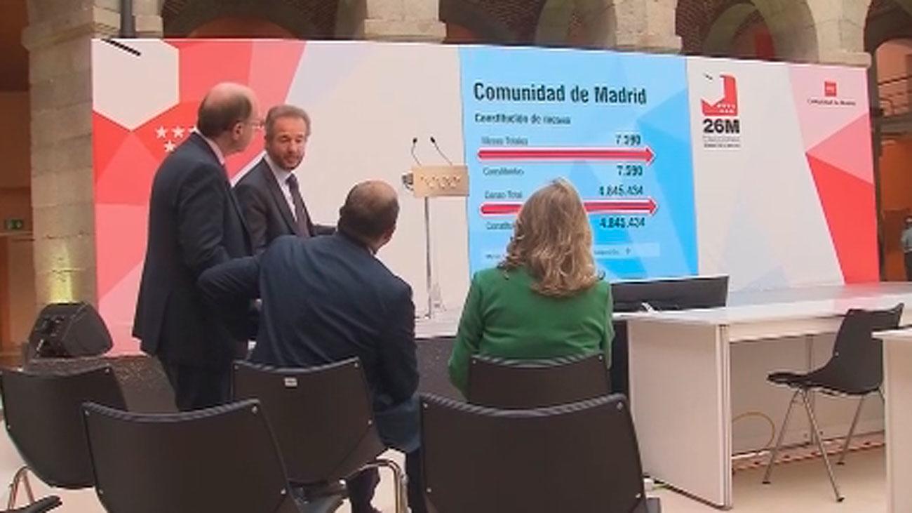 """Los madrileños podrán seguir los resultados del 26-M por web y una app con """"un pactómetro"""" de alianzas"""
