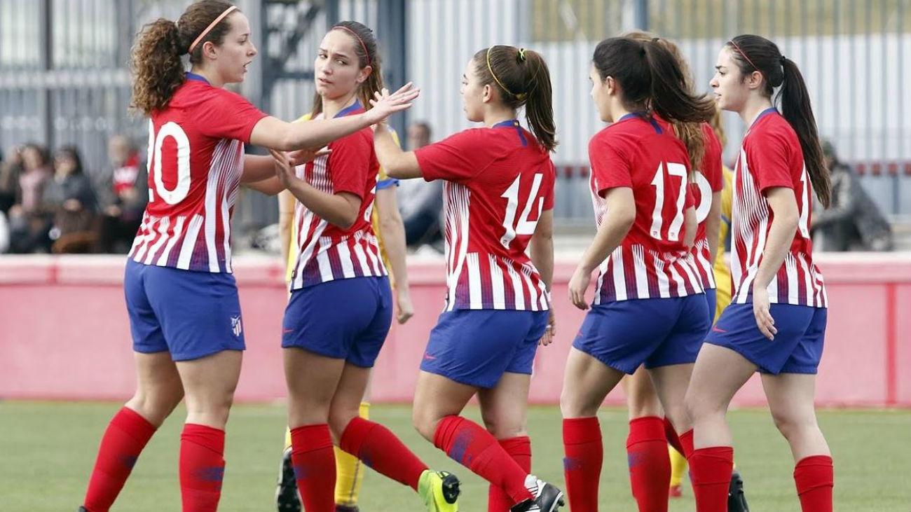 2-1. El Atleti B, campeón de la Copa Nacional Femenina