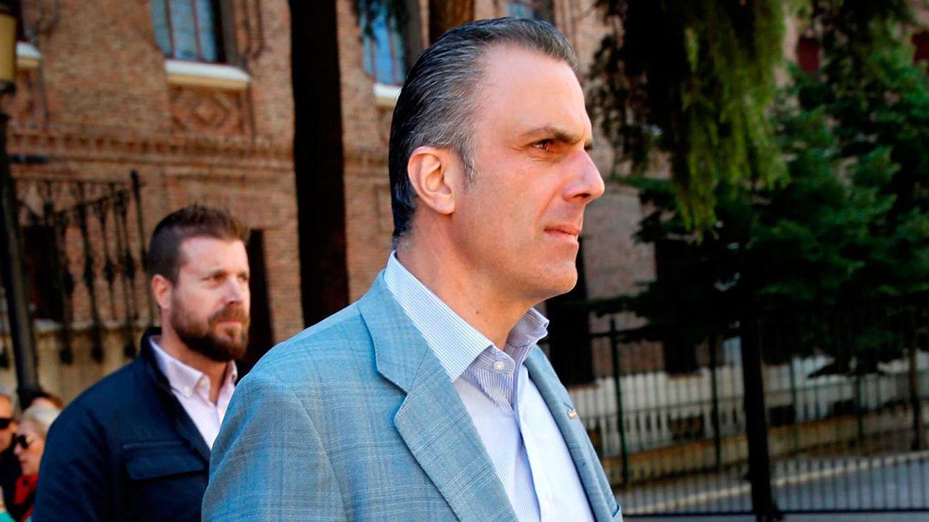 El candidato de Vox al Ayuntamiento de Madrid, Javier Ortega Smith