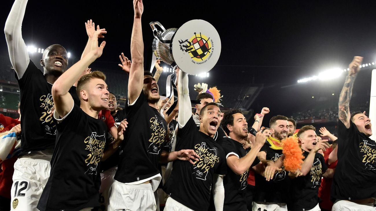 El Valencia se proclama campeón de la Copa