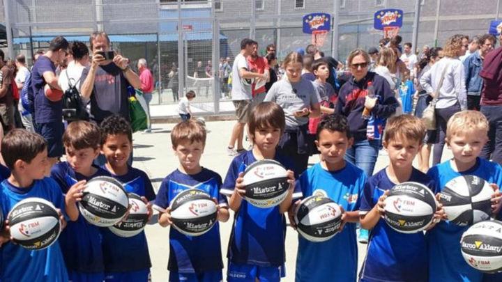 Así fue la fiesta del Baby Basket de la Federación Madrileña