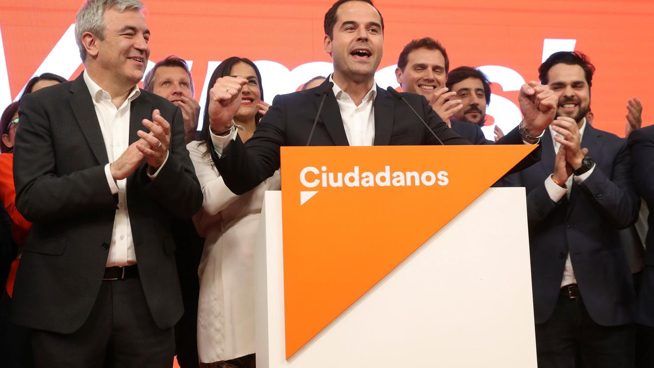 """Ciudadanos se muestra feliz por """"derrotar al populismo en Madrid"""""""