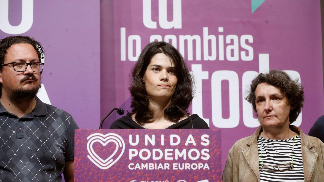 Isa Serra, candidata de Unidas Podemos