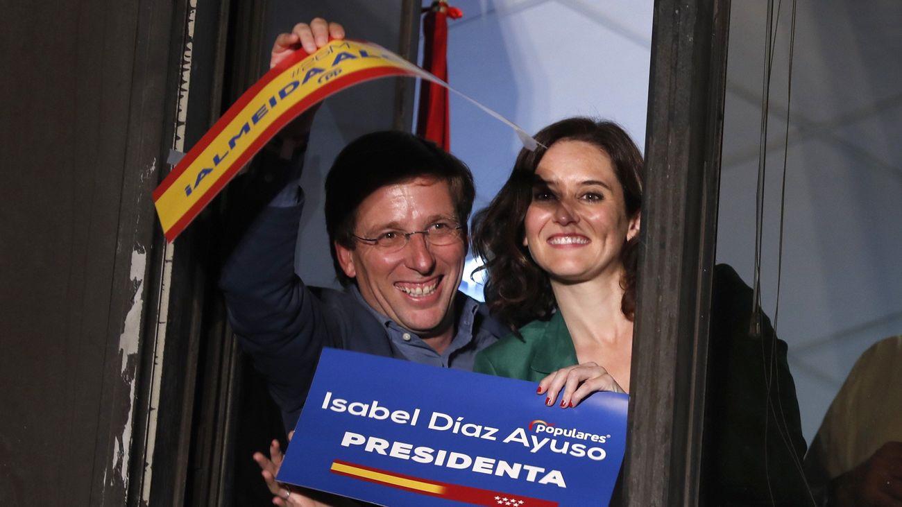 Martínez Almeida y Díaz Ayuso