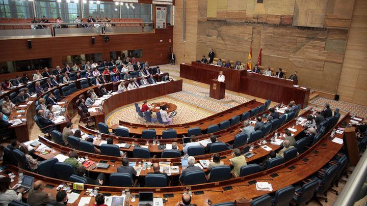 Pleno de Asamblea de Madrid