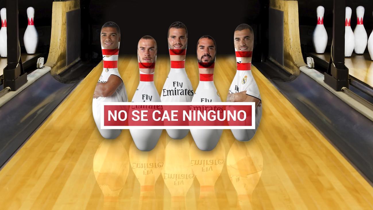 Bale, Isco Nacho, Ceballos y Casemiro no se quieren mover del Bernabéu