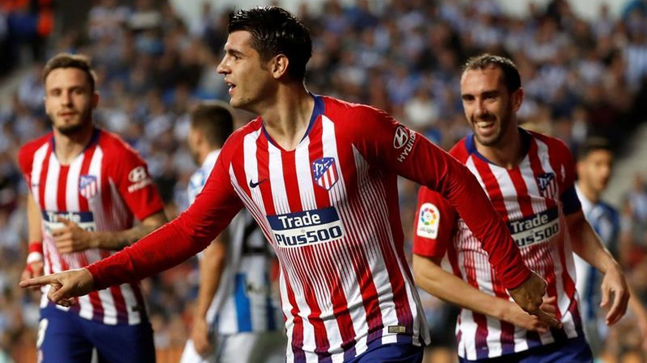 """Morata: """"En el Atleti he encontrado la felicidad"""""""