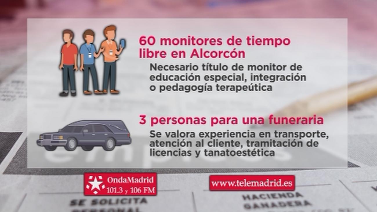 Se buscan monitores de tiempo libre para trabajar en Alcorcón