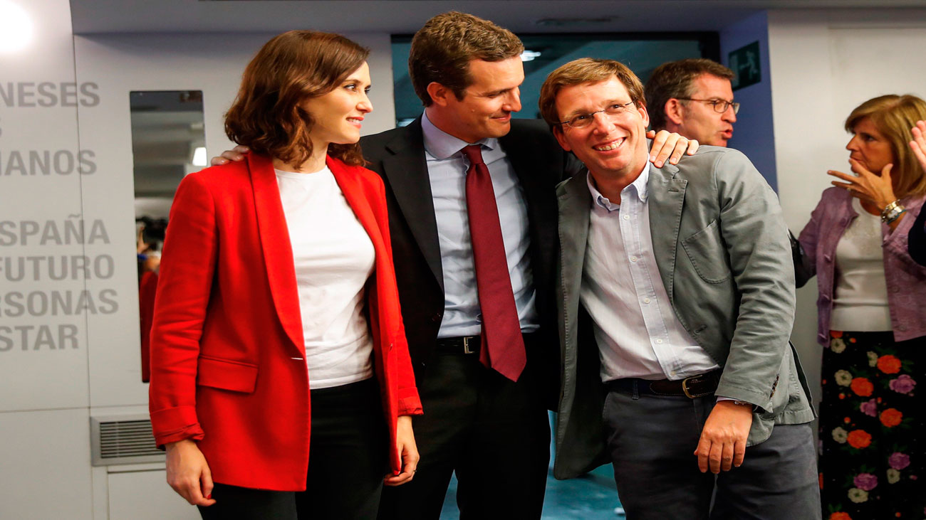 Casado encarga a García Egea, Maroto y Ana Beltrán la negociación de pactos